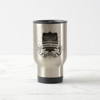"Del ""taza urbana del viaje club del café del taza de viaje"