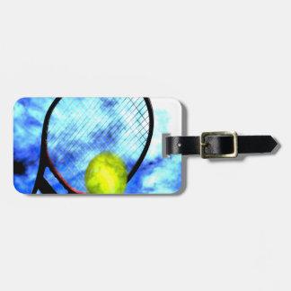 Del tenis estilo del Grunge todo el día Etiquetas De Maletas