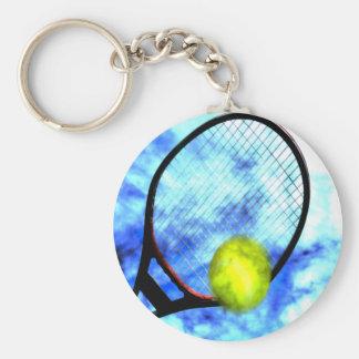 Del tenis estilo del Grunge todo el día Llavero Redondo Tipo Pin