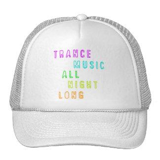 Del trance de la música gorra durante toda la noch