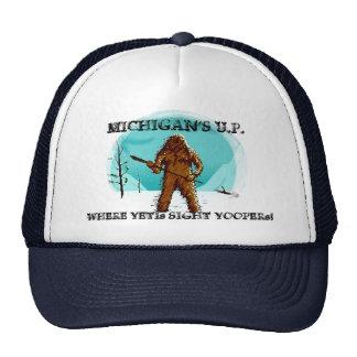 ~ del U.P. de Michigan donde los Yetis ven Yoopers Gorra