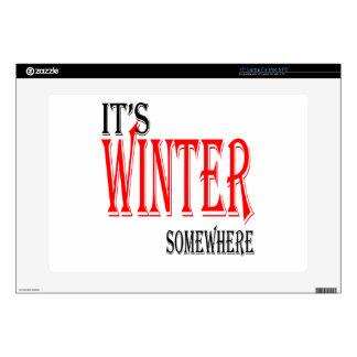 del verano del invierno del hielo de la esperanza portátil 38,1cm skin