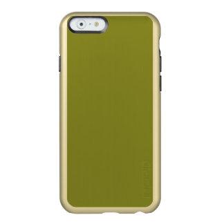 """~ del VERDE CAQUI (""""usted no está detrás un color Funda Para iPhone 6 Plus Incipio Feather Shine"""