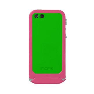 ~ del VERDE de la MALAQUITA (color sólido) Funda Para iPhone 5 Incipio ATLAS ID