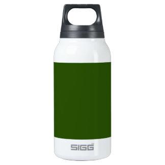 ~ del VERDE del AGUACATE (color sólido) Botella Isotérmica De Agua