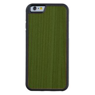 ~ del VERDE del GRUNGE (color sólido) Funda De iPhone 6 Bumper Cerezo