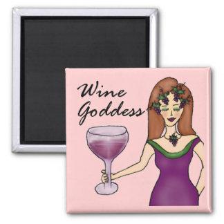 Del vino de la diosa imán del rosa divinamente