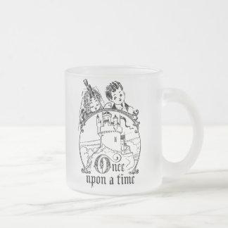 Del vintage ropa, decoración, y regalos érase una  taza cristal mate