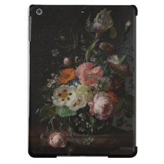 Del vintage todavía del holandés vida con el caso  funda para iPad air