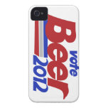 Del voto parodia política de la cerveza 2012 fot Case-Mate iPhone 4 carcasas
