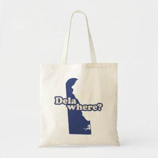 Dela-where? Tote Bag
