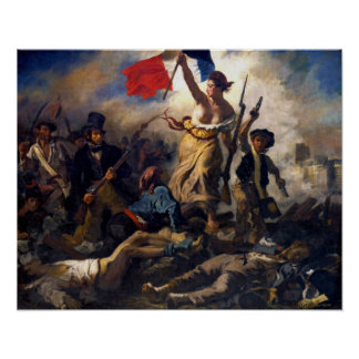 Delacroix - Liberty Leading the People Poster
