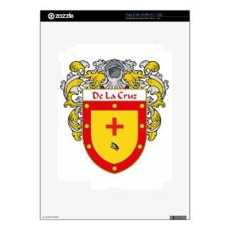 DeLaCruz Coat of Arms/Family Crest Decals For The iPad 2