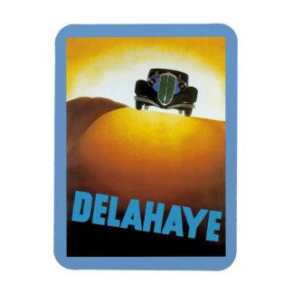 Delahay Automobile Ad Rectangular Photo Magnet