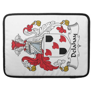 Delahay Family Crest Sleeves For MacBook Pro