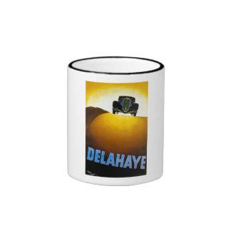 Delahaye - anuncio del vintage tazas de café