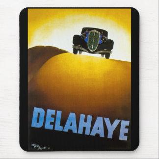 Delahaye - Vintage Advertisement Mouse Pad