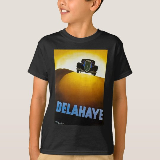 Delahaye - Vintage Advertisement T-Shirt