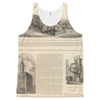Delamater Iron Works All-Over Print Tank Top