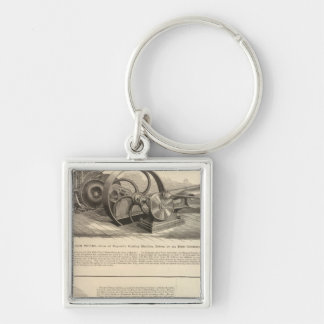 Delamater Iron Works Key Chain