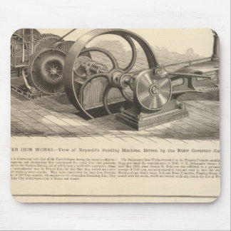 Delamater Iron Works Mouse Pad