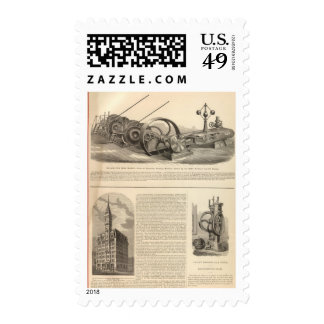 Delamater Iron Works Postage Stamps