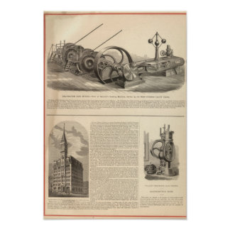 Delamater Iron Works Poster