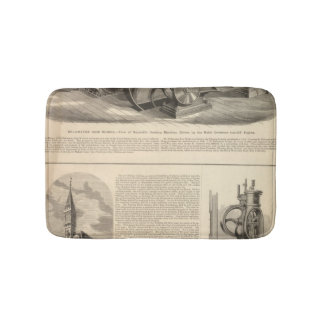 Delamater Iron Works Bath Mats