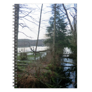 Delamere Forest Wetlands and Blakemere Moss Spiral Notebook
