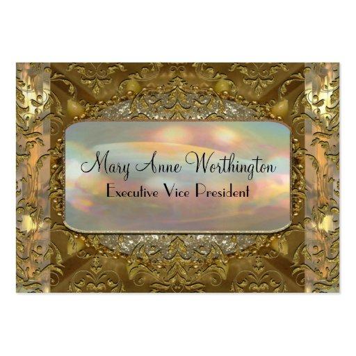 Delancey Astor 3.5 Elegant  Professional Large Business Card