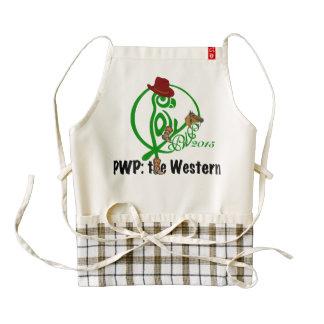 Delantal 2015 del logotipo de PWP