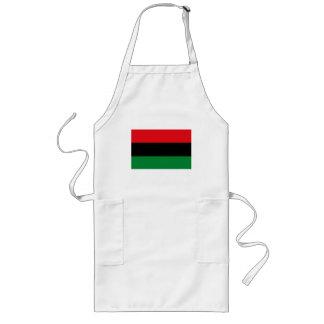 Delantal afroamericano de la bandera