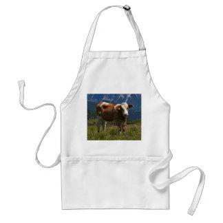Delantal alpino de la vaca