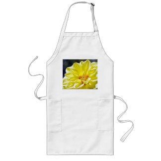 Delantal amarillo de la flor
