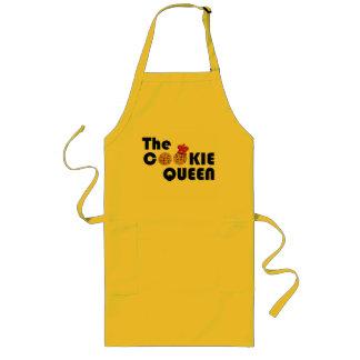 Delantal amarillo de la reina de la galleta