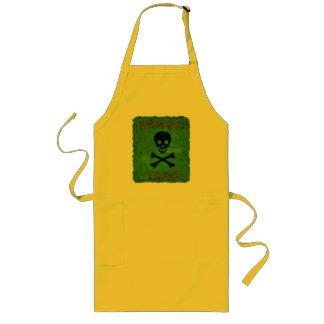 Delantal amonestador tóxico