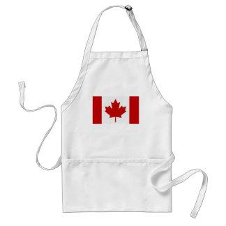 Delantal canadiense de la bandera
