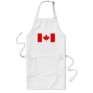 DELANTAL CANADIENSE de la BANDERA (largo)