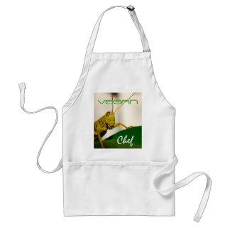 Delantal Cocinero-De cocinar del VEGANO