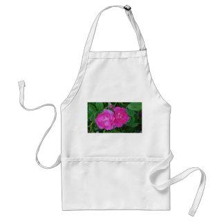 Delantal color de rosa para el jardinero