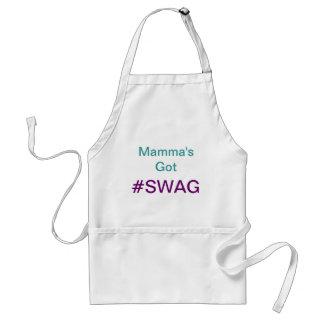 Delantal conseguido del #SWAG de la mama