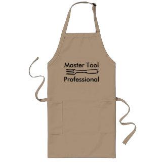 Delantal de cocinar profesional de la herramienta