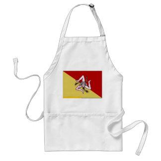 Delantal de cocinar siciliano