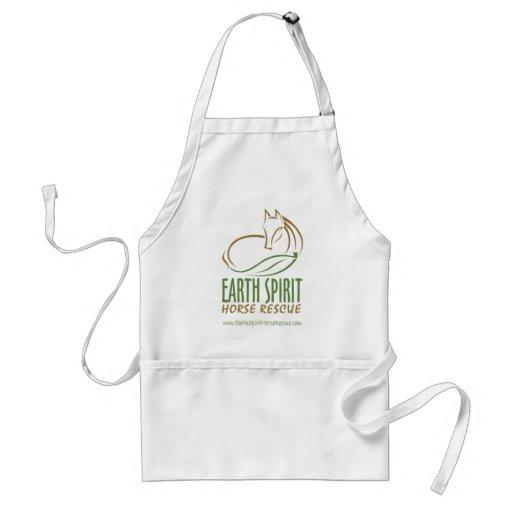 Delantal de Earth Spirit Horse Rescue Inc.