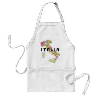 Delantal de Italia