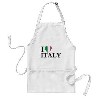 Delantal de Italia del diseñador