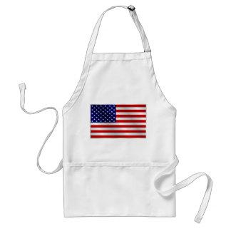 Delantal de la bandera americana