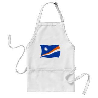 Delantal de la bandera de Marshall Islands