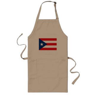 Delantal de la bandera de Puerto Rico