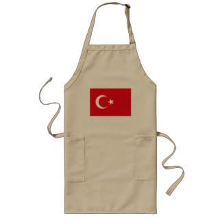 Delantal de la bandera de Turquía